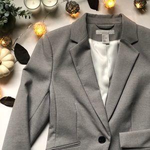 H&M Blazer (Light Grey)